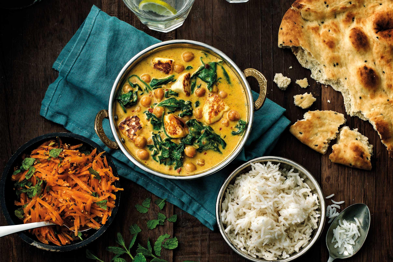 indiska vegetariska recept