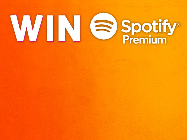 Win Spotify Premium for a year