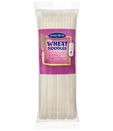 Wheat Noodles Perfect For Coconut Milk Dishes 250 g