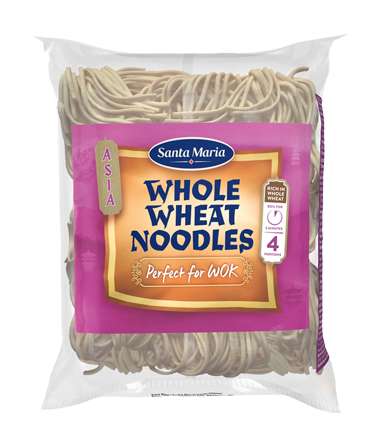 Whole Wheat Noodles Perfect For Wok 200 g