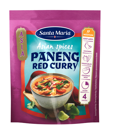 Asian Spices Paneng Red Curry