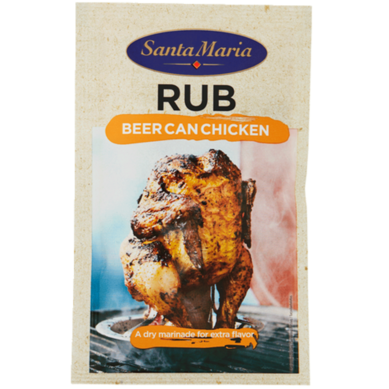 Rub Beer Can Chicken