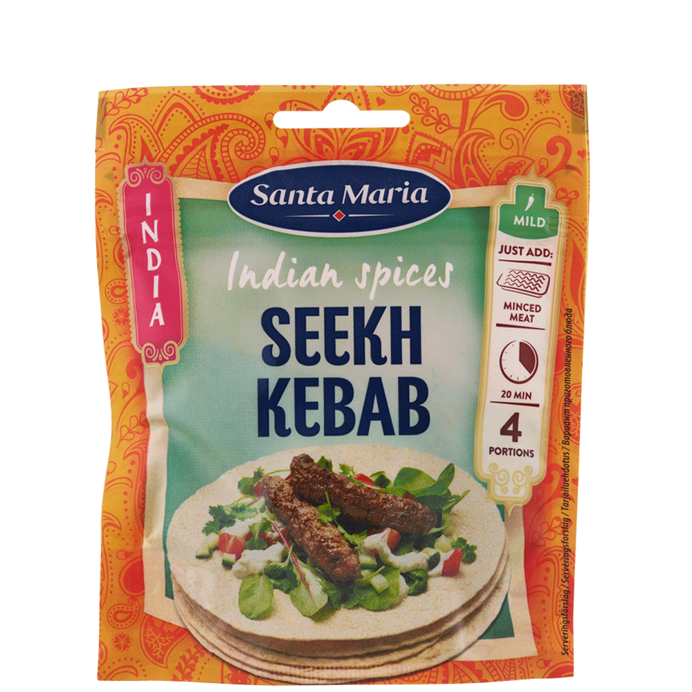 Indian Spices Seekh Kebab