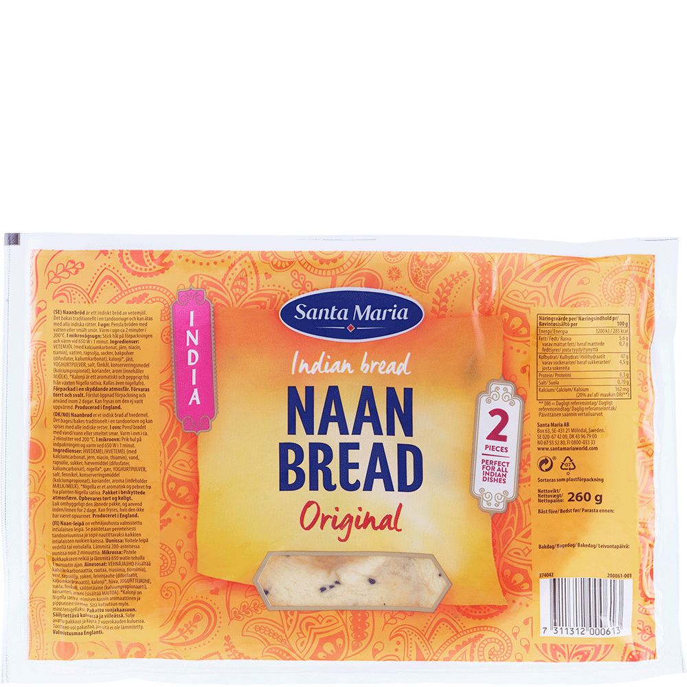 Naan Bread Original