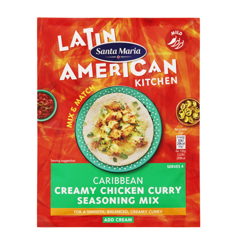 Caribbean Creamy Chicken Curry Seasoning Mix