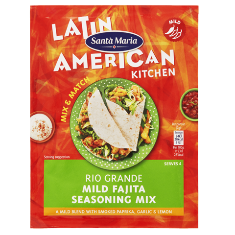 Rio Grande Mild Fajita Seasoning Mix
