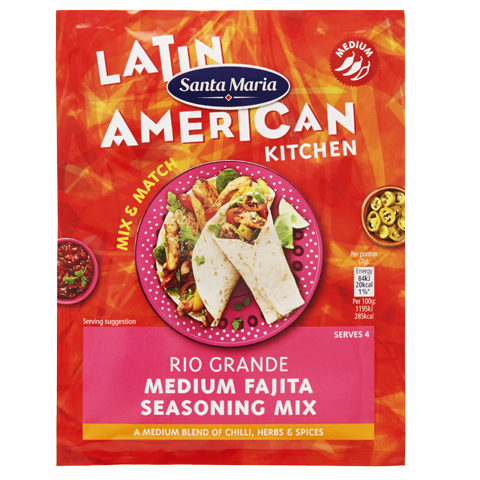 Rio Grande Medium Fajita Seasoning Mix