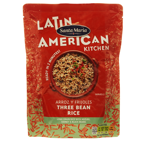 Arroz y Frijoles Three Bean Rice
