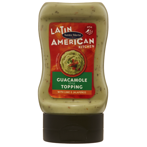 Guacamole Style Topping