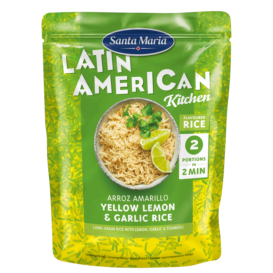 Arroz Amarillo - Yellow Lemon & Garlic Rice