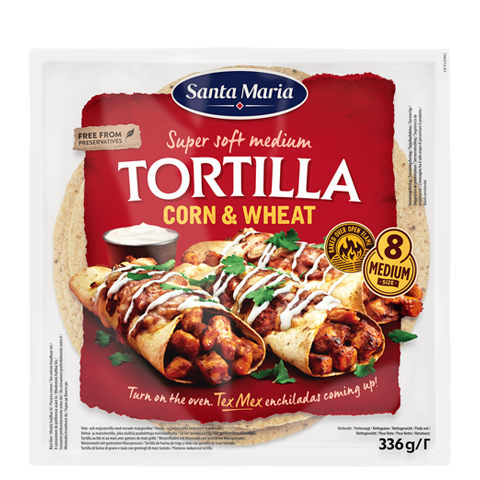 Corn & Wheat Tortilla