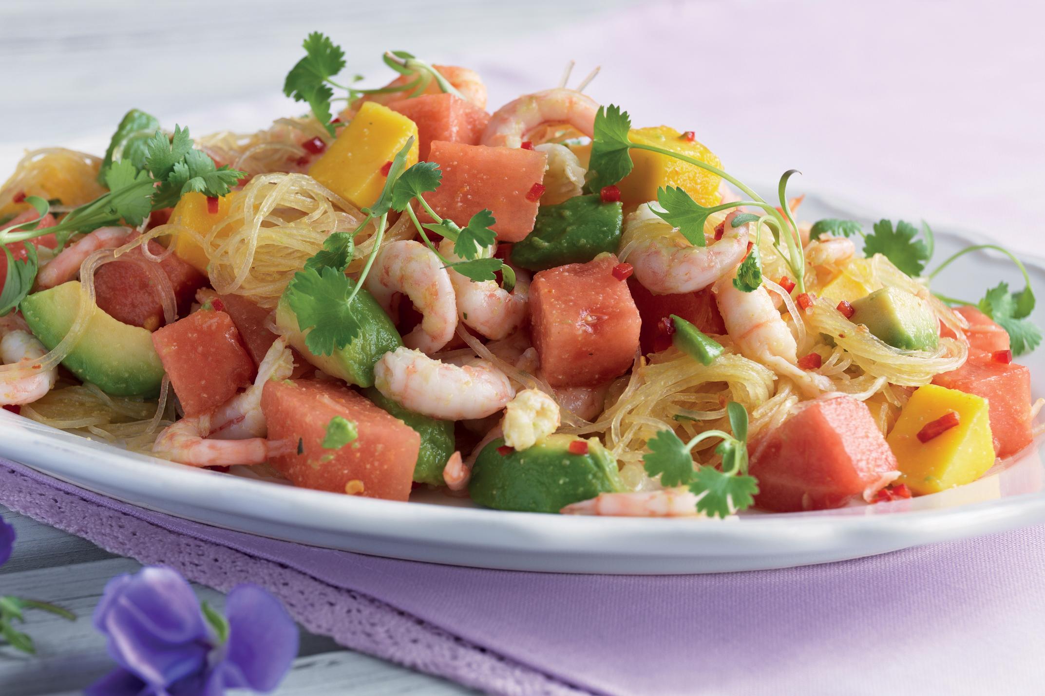 Легкий салат с мидиями рецепт с