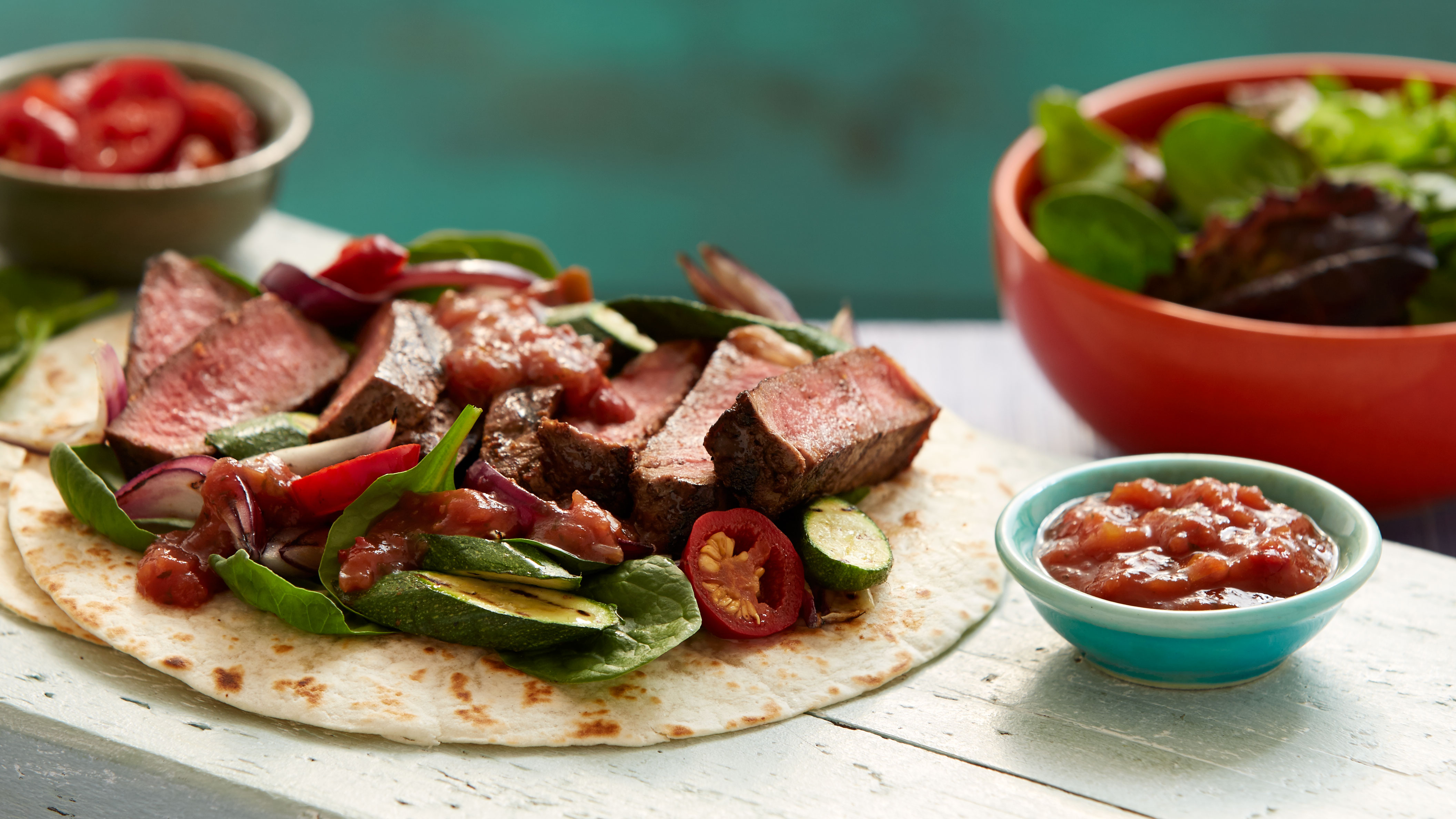 Argentinian Barbacoa Beef Steak Soft Tacos