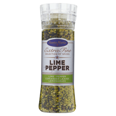 Kryddkvarn med Lime pepper