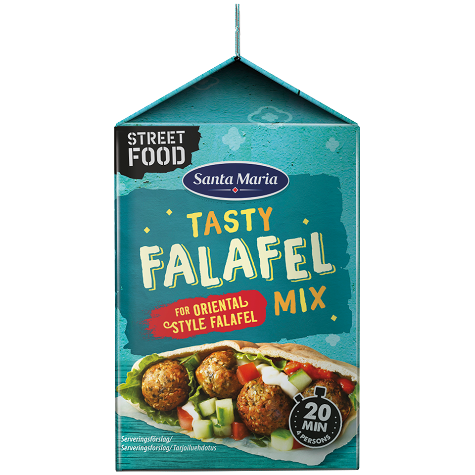 Tasty falafel mix