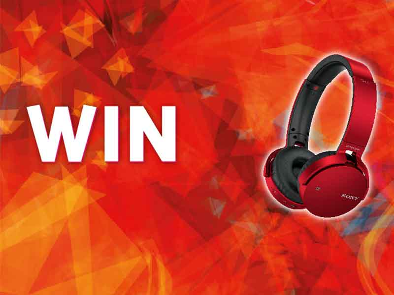 Win a pair of Sony Wireless Headphones