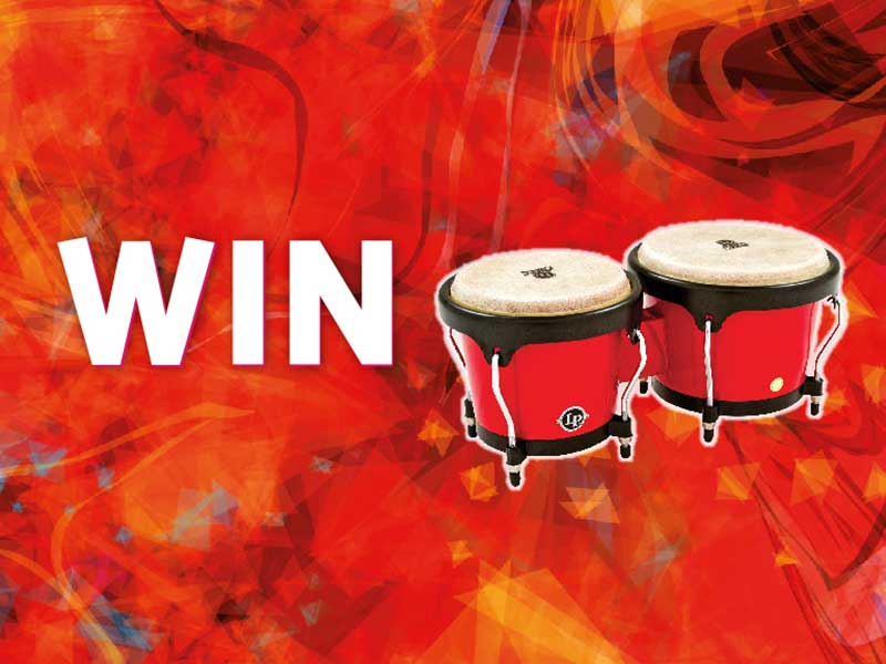 Win A Pair Of Bongos!