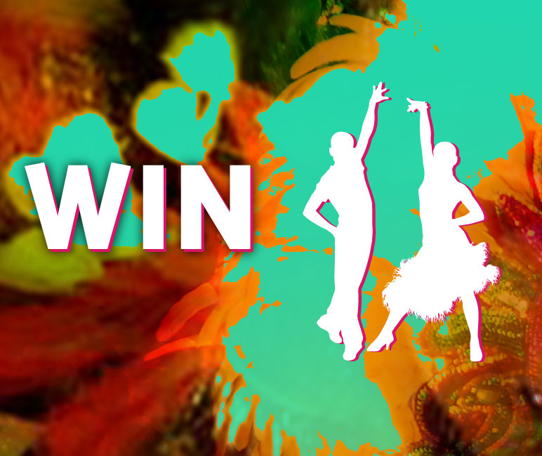 Win a Latin American Dance lesson for two