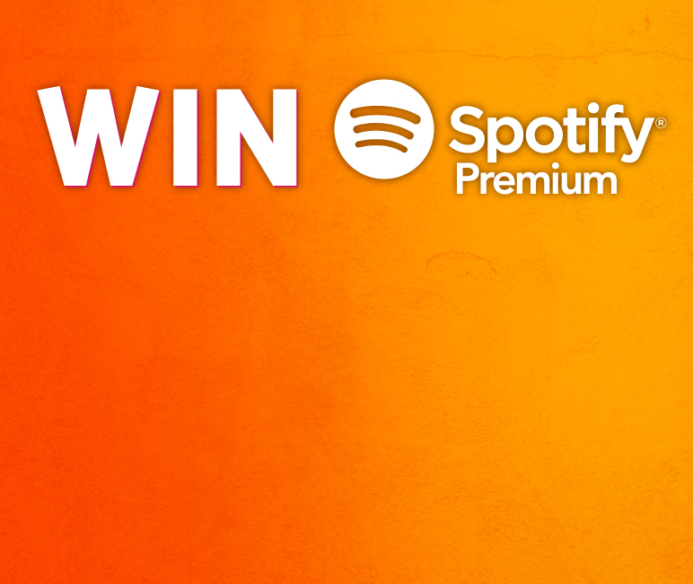 win Spotify Premium for a year!