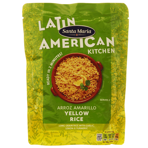 Arroz Amarillo Yellow Rice