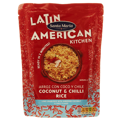Arroz Con Coco y Chile Coconut & Chilli Rice