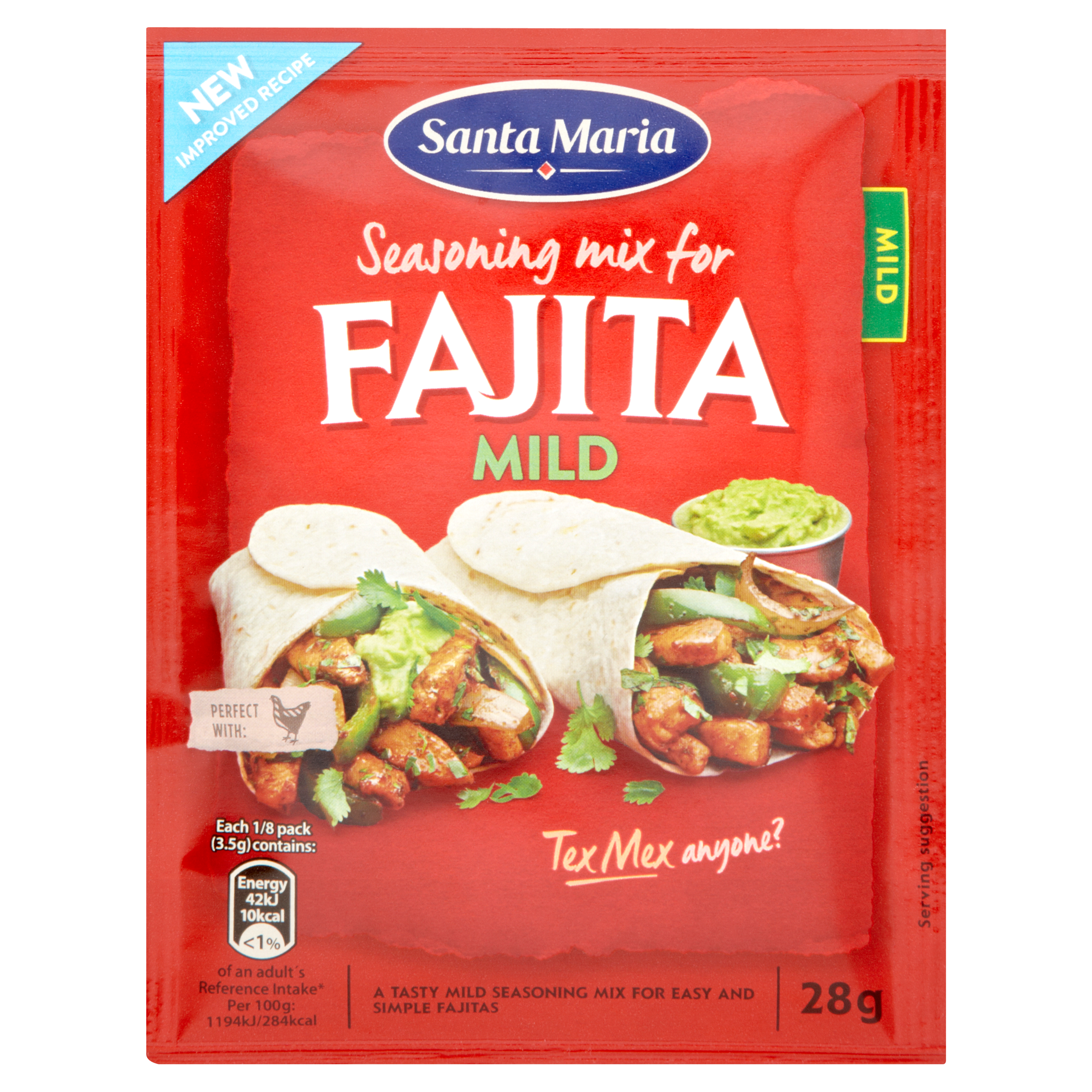 Fajita Seasoning Mix Mild