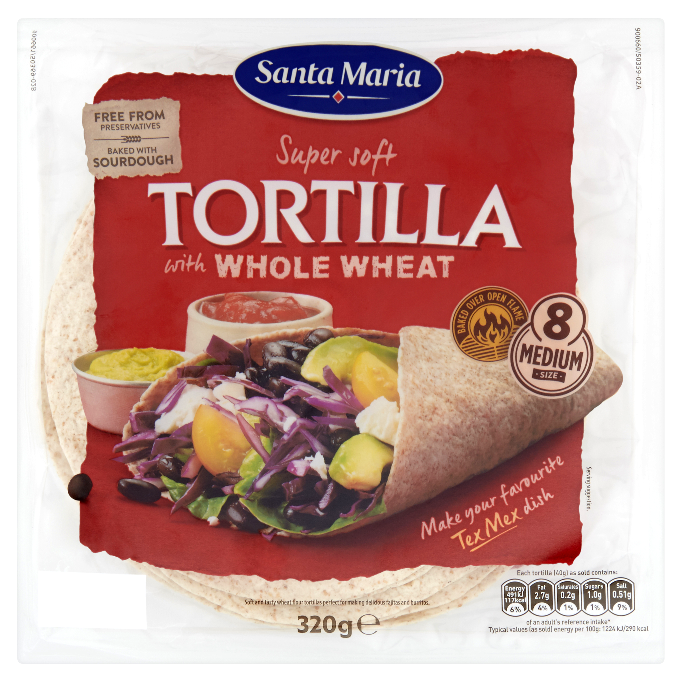 Soft Tortillas with Whole wheat