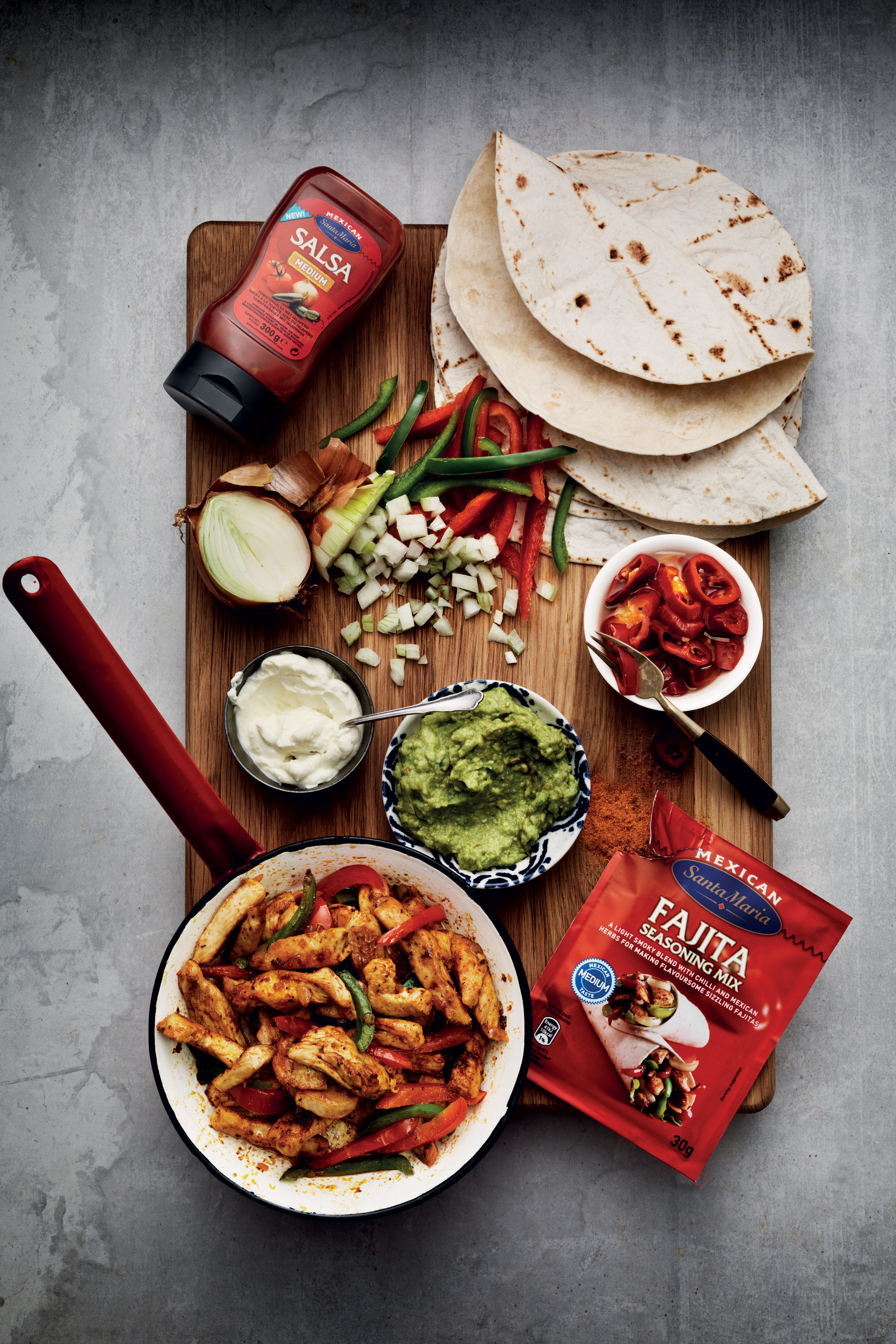 Add taste to your Fajita