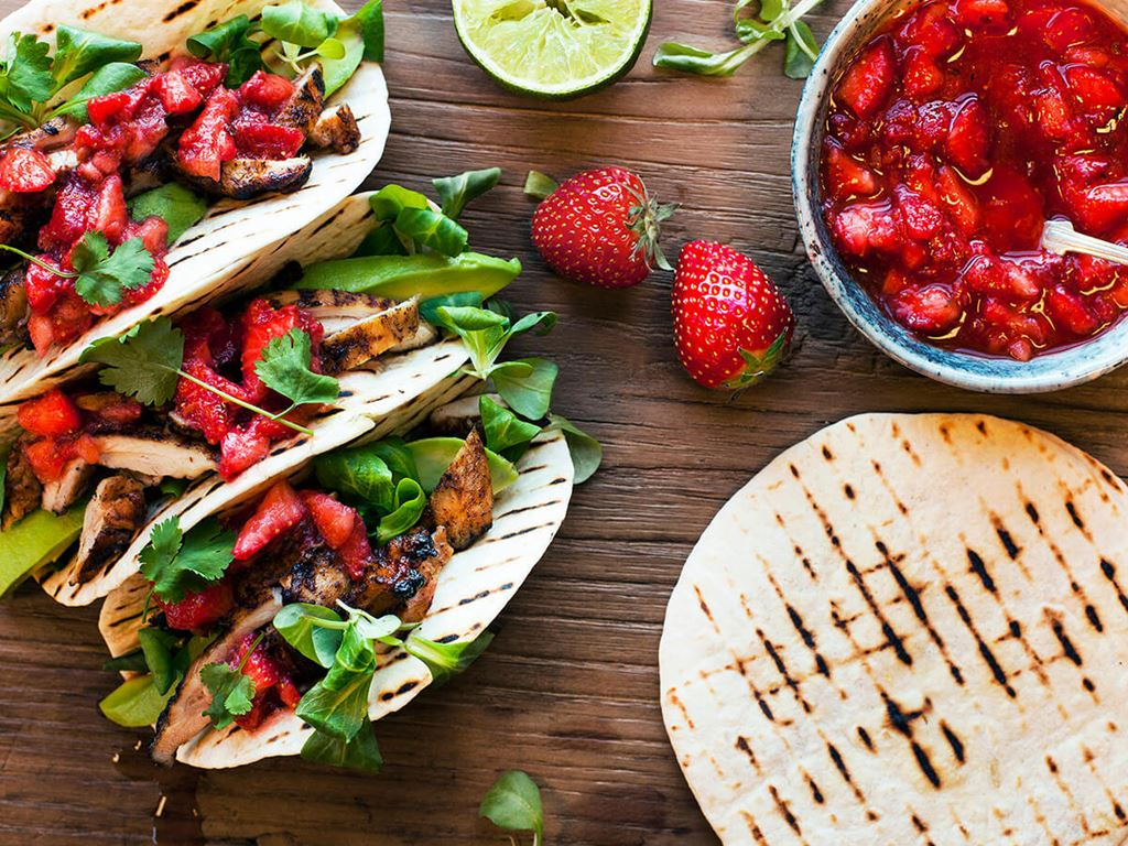 Strawberry & Chipotle Salsa