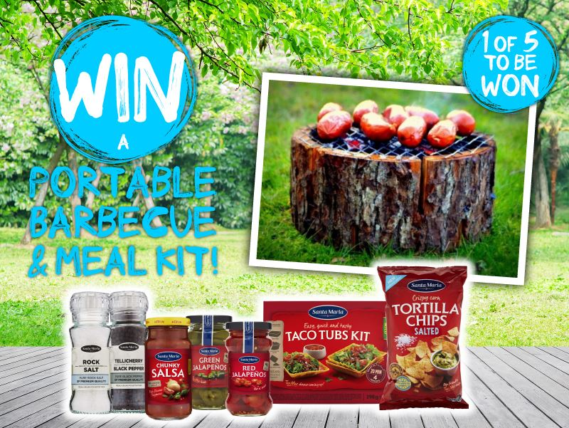 Win a BBQ and Meal Kit!