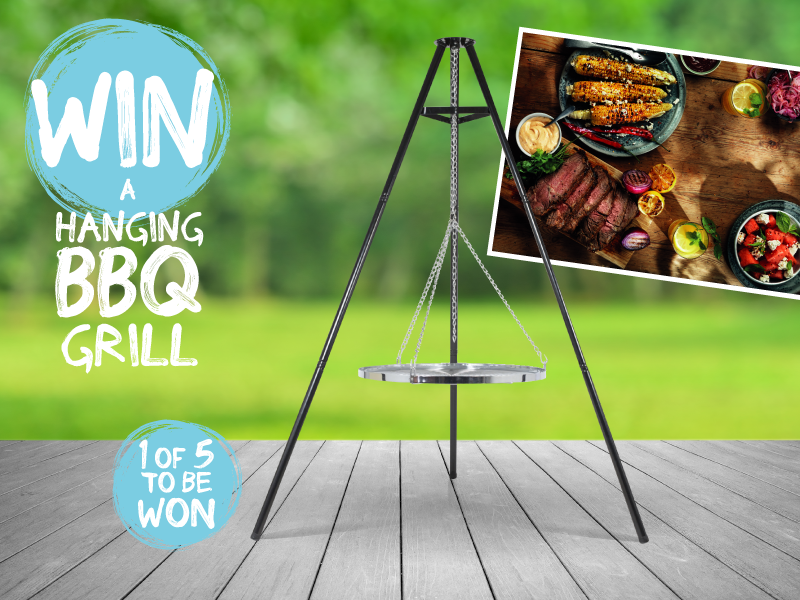 Win a Hanging BBQ Grill