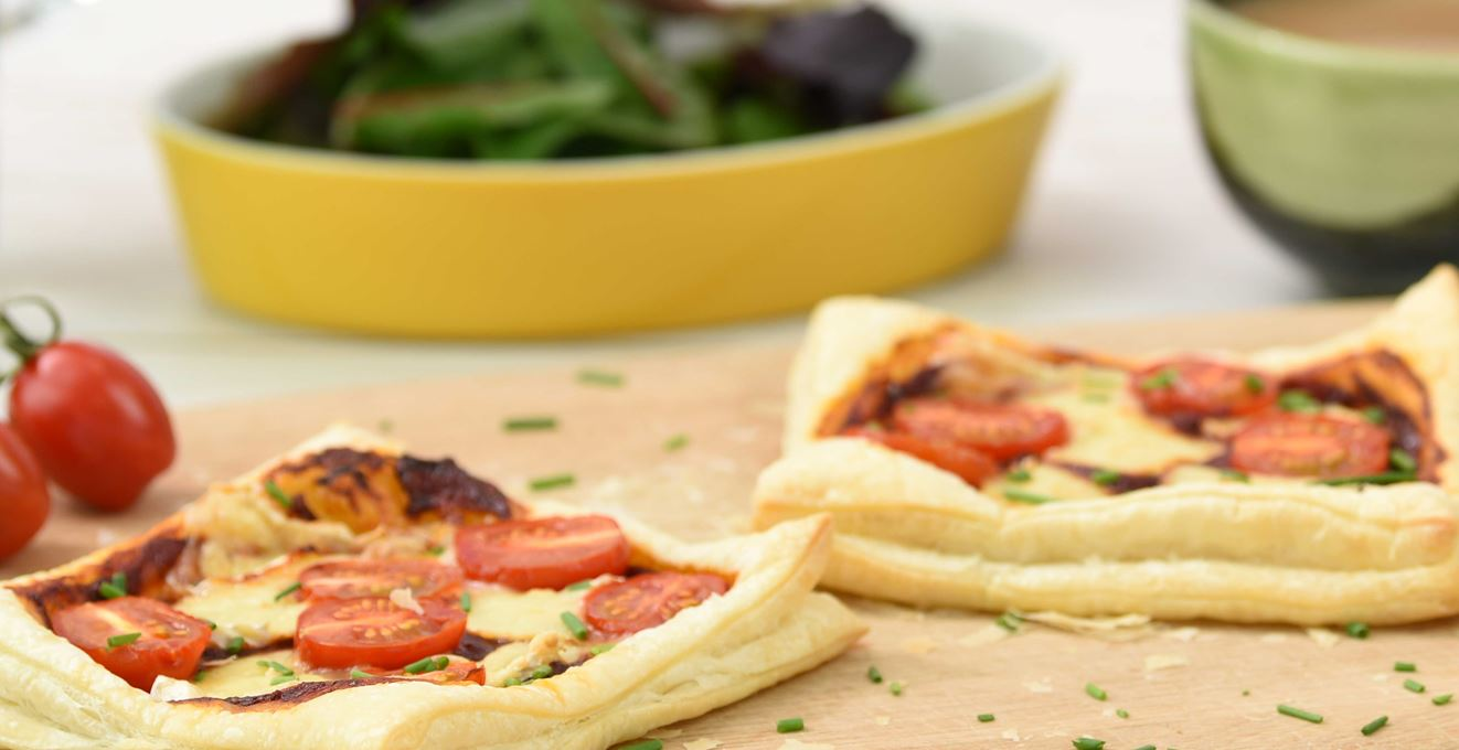 Brie and Chipotle Tart
