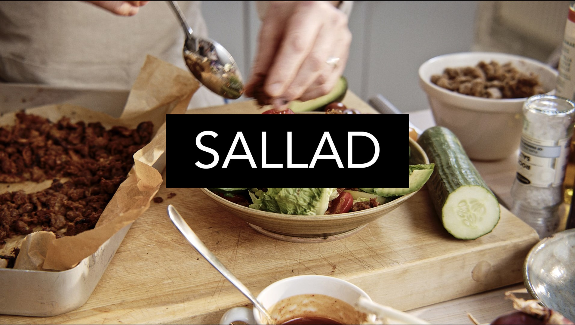 Pulled Oats Sallad