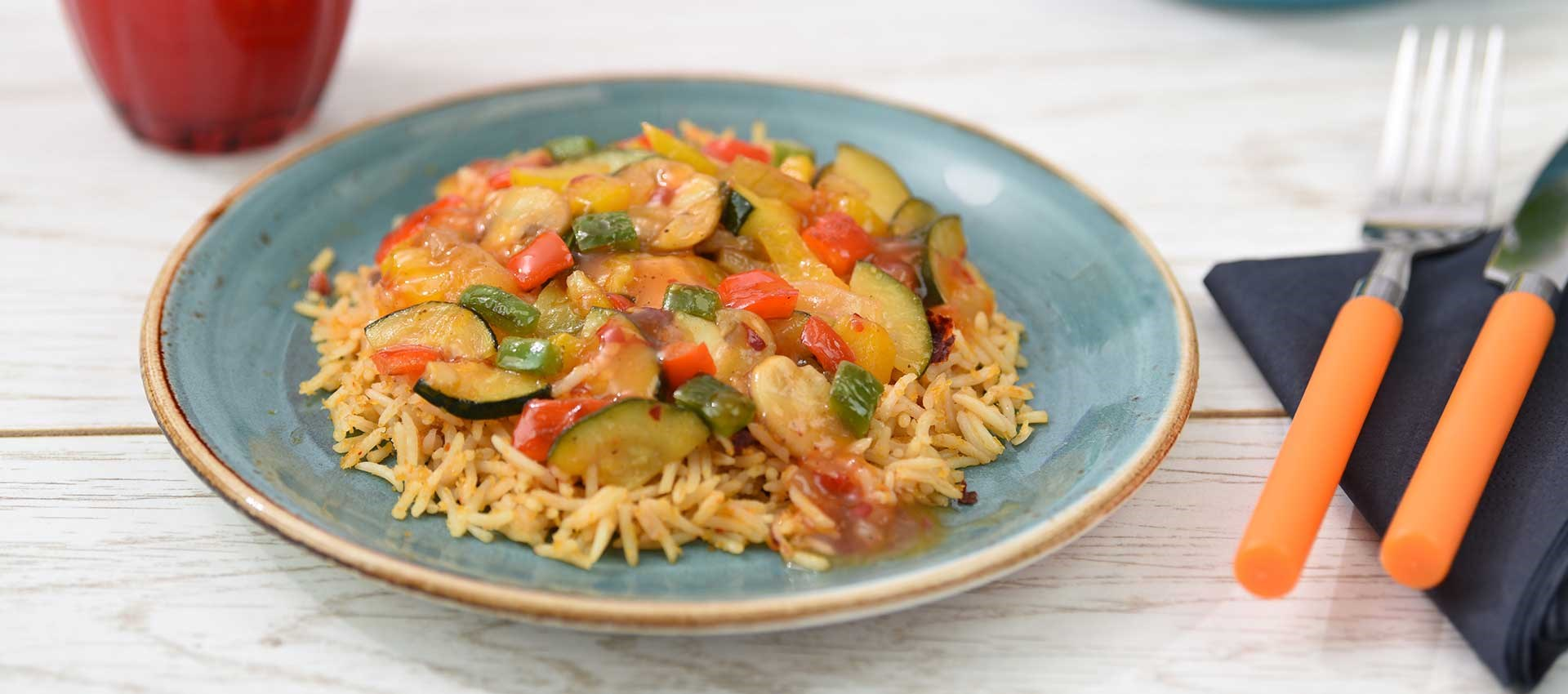 Veggie Caribbean Pineapple Chilli