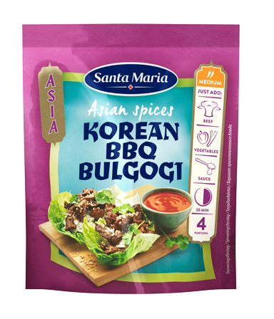 Asian Spices Korean BBQ Bulgogi