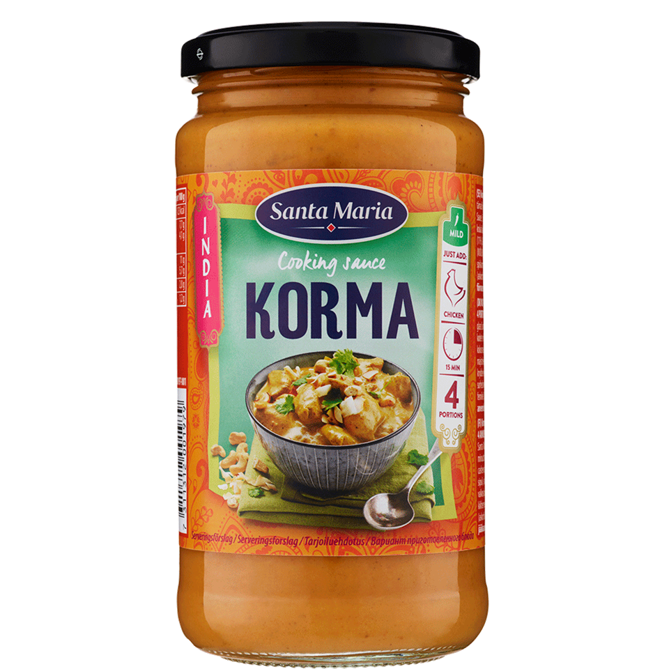 Korma Cooking Sauce