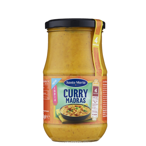 Curry Madras Cooking Sauce