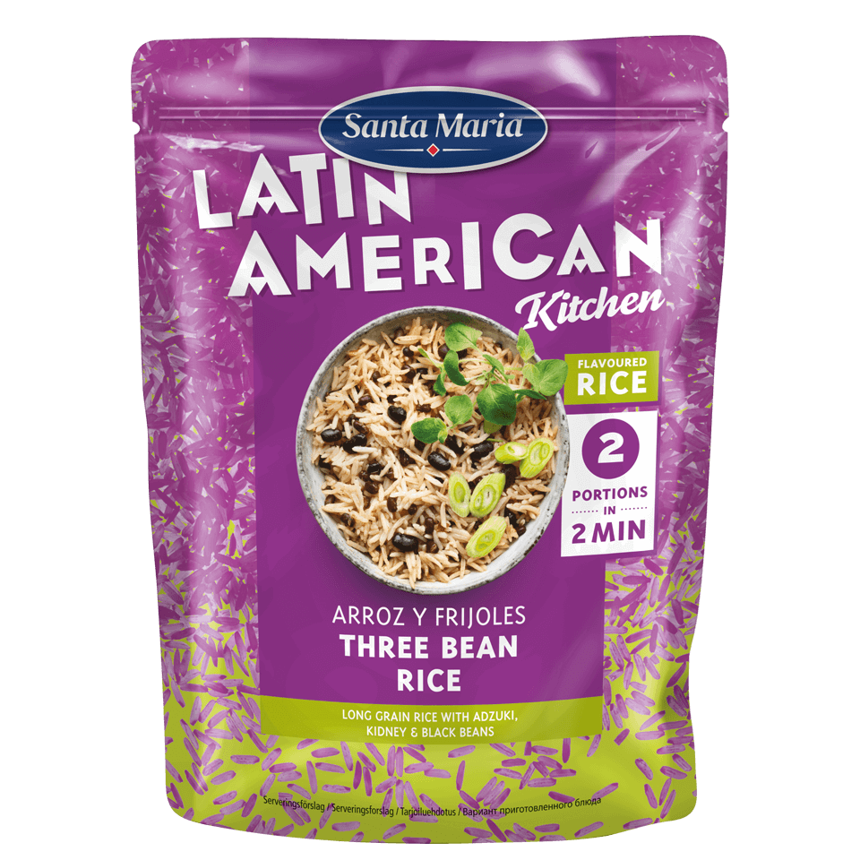 Arroz y Frijoles - Three Bean Rice