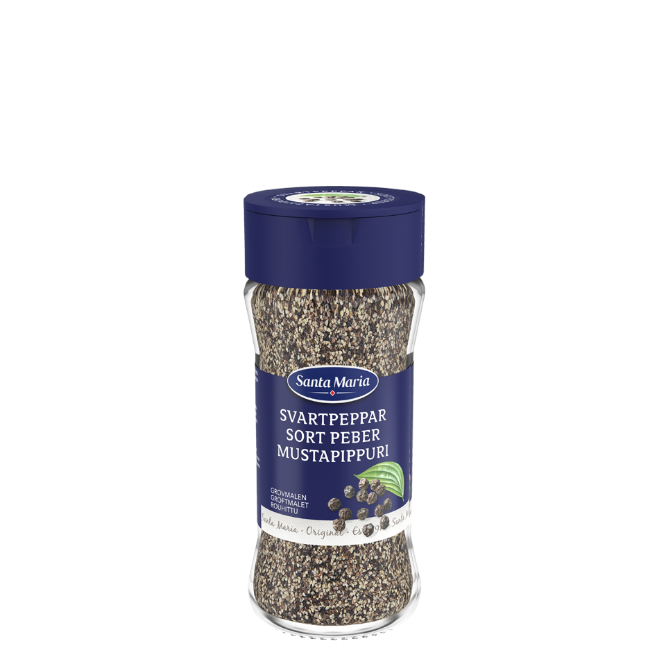 Sort Pepper, Grovmalt