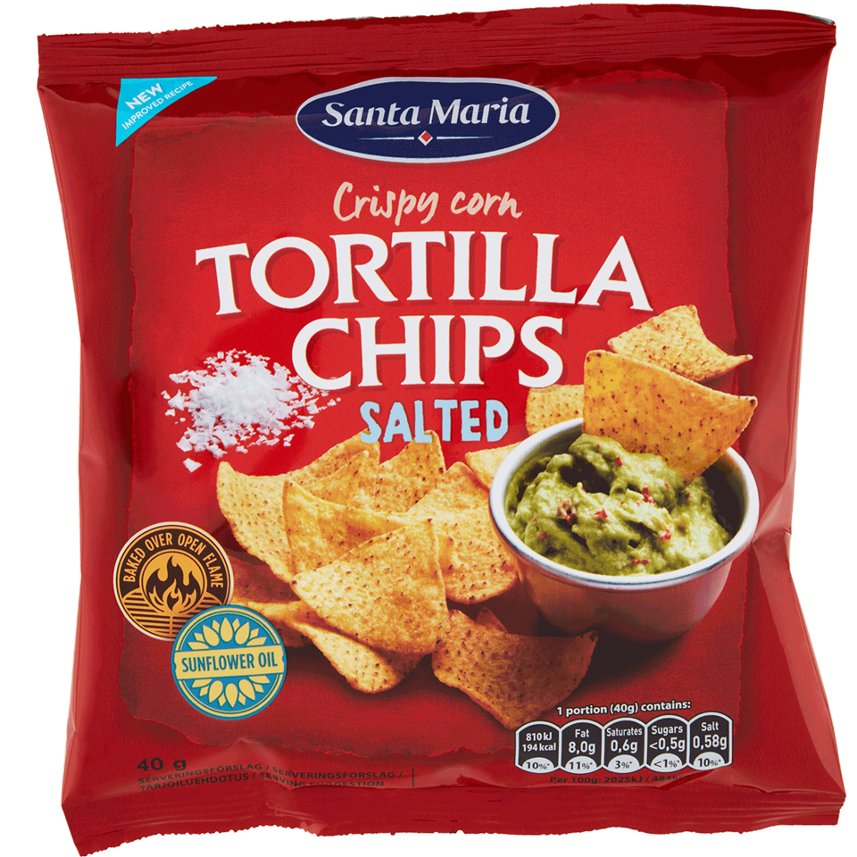 Tortilla Chips Salted