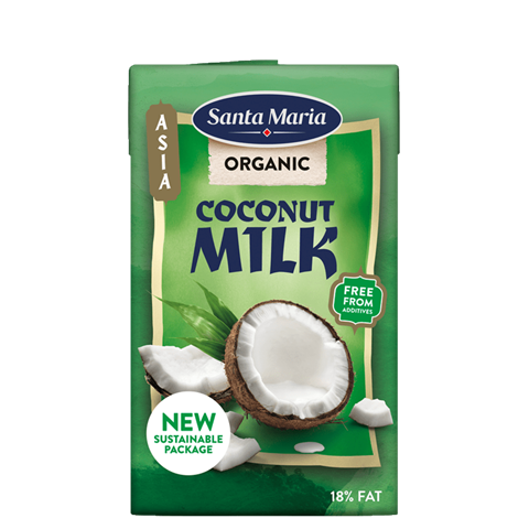 Tetra with organic coconut milk