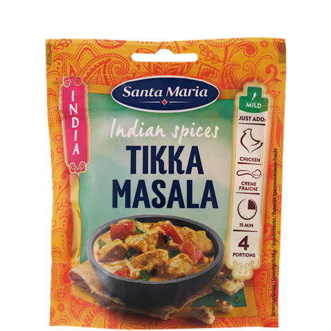 Indian Spices Tikka Masala
