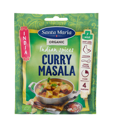 Påse med Indian Spices Curry Masala Organic