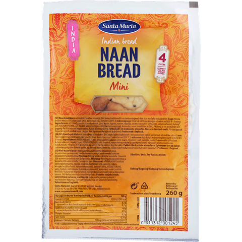 Naan Bread Mini