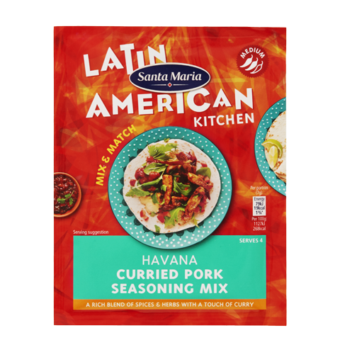Havana Curried Pork Seasoning Mix