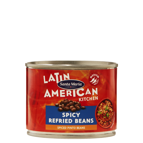 Spicy Refried Beans
