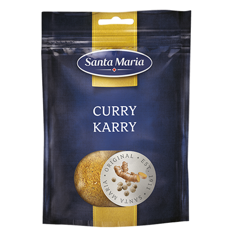 Curry, storpåse