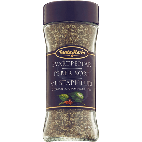 Sort Pepper grovmalt