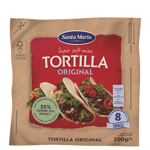 Soft Tortilla Original Mini (8-pack)