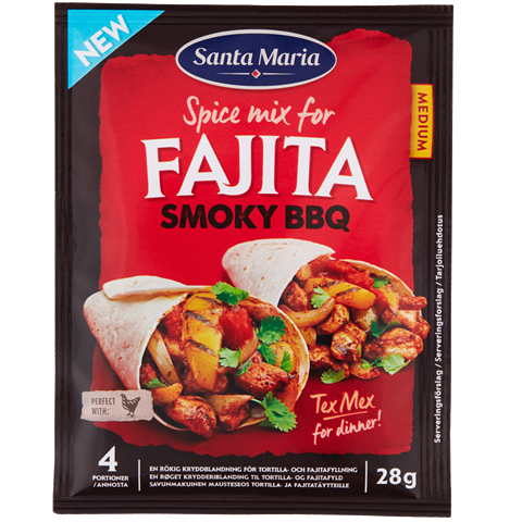 Fajita Spice Mix Smoky BBQ